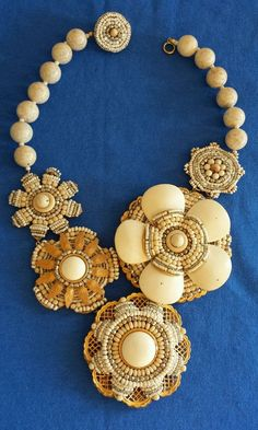 MIRIAM HASKELL Necklace Signed Vintage VERY RARE!!!! #MiriamHaskell
