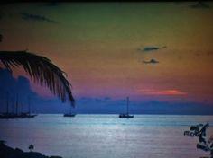 Sunset on the Spice Island Grenada