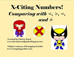 Grade 2 Math Number A5: comparing numbers game
