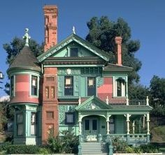 Beautiful painted lady home. sheilatommy