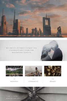 Wedding Videography Website Design - Porto II WordPress Theme by Flothemes - Our client website showcase - www. The classics are classics for a reason. We've preserved the elegant, sophisticated design of Porto . Web Design Trends, Web Design Grid, Site Web Design, Best Website Design, Web Design Tutorial, Web Design Mobile, Clean Web Design, Website Designs, Travel Website Design