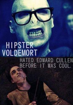 hipster voldemort. bahaha.