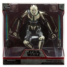 General Grievous Elite Series Die Cast Action Figure - 7 1/4'' - Star Wars