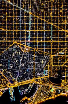 Maps & Charts | Barcelona by Vincent Laforet