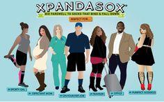 Wardrobe Wonders: Need Socks for Your Wide Calves? Meet Xpandasox