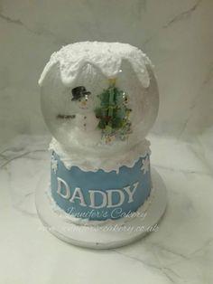 Snow dome cake -By Jennifer's Cakery