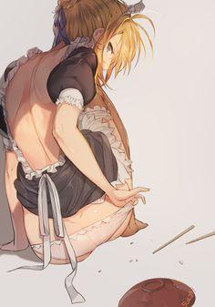 grafika anime, saber, and fate/séries