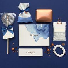Georges  geboortekaartje  & doopsuiker www.howsweetitis.be
