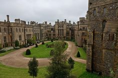 Courtyard of Arundel Castle, West Sussex, UK circa 1065 by WaFp