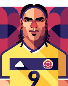 radamel falcao by daniel nyari