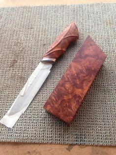 Custom made knife - amazing.