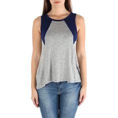 Blusa feminina sem mangas e com fendas nas costas - Solemio