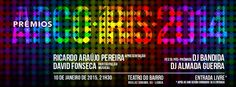 É já no próximo dia 10, Sábado, queos Prémios Arco-Íris 2014 serão entregues no Teatro do Bairro em Lisboa pelas 21h30. Promovidos pela ILGA Portugal,serão conduzidos pelohumorista Ricardo Araúj...