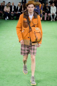 Junya Watanabe Spring 2014 Menswear Collection Slideshow on Style.com