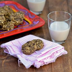 No-Bake Peanut Butter Chia Chocolate Chip Cookies {Gluten-Free & Heart Healthy 2013}