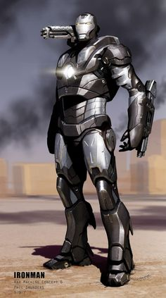 Ironman 2 Concept War Machine