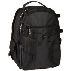 AmazonBasics Backpack for SLR/DSLR Cameras and Accessories-Black