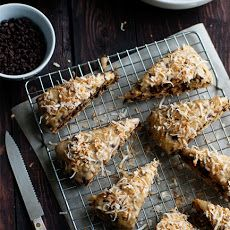 Chocolate Coconut Scones II Recipe