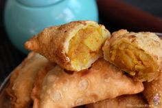 Easy Potato Curry Puffs - Bear Naked Food