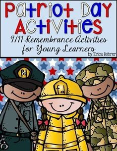 I created this freebie because I know it is difficult for teachers of young learners to find age appropriate ways to honor the victims and community heroes of 9/11. As a New Yorker, 9/11 will forever be etched in my memory. I knew many people who lost their lives. Fun Classroom Activities, Activities For Boys, First Grade Activities, Teaching First Grade, Kindergarten Activities, Patriots Day Activities, Preschool Social Studies, Bohrer, September Activities