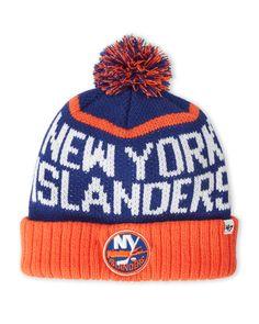 47 Brand New York Islanders Pom-Pom Linesman Knit Hat New York Islanders 731fc41d8c3a