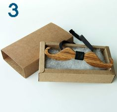 Handmade Wooden Bow Tie Men's Gifts Fashion Wedding Wood bowtie Christmas New