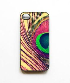 Peacock Feather Iphone case Peacock Iphone by SSCphotographycases