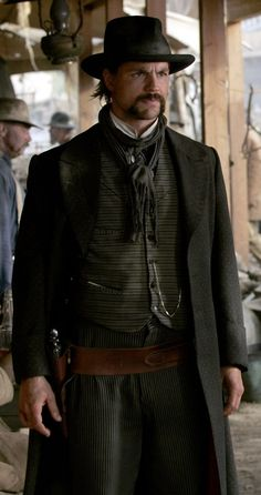 The Earp boys arrive in Deadwood, just in time! Deadwood Series, Deadwood Tv Show, Old Movies, Vintage Movies, Westerns, Gale Harold, Vintage Horror, Western Movies, Costume Shop