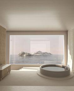 "The Project. on Twitter: ""More dreamscapes of dreams.… "" Beautiful Architecture, Interior Architecture, Interior Design, Mykonos Villas, Minimal Home, Castle House, Minimalist Interior, My Dream Home, Home Deco"