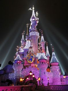 disneyland paris castle I have been to Disney World and Disneyland, but I still want to see Paris.