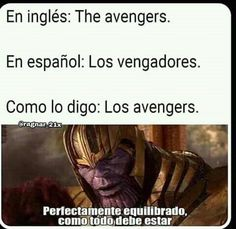Funny Marvel Memes, Avengers Memes, Stupid Funny Memes, Wtf Funny, Pinterest Memes, Spanish Memes, Meme Faces, Marvel Dc Comics, Marvel Avengers