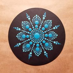 Acrylic painted magnet wood magnet hand painted magnet fridge magnets wood art mandala style u, Art Painting Tools, Rock Painting Designs, Dot Painting, Painting Patterns, Mandala Painting, Pebble Painting, Stone Painting, Painting On Wood, Painting Flowers