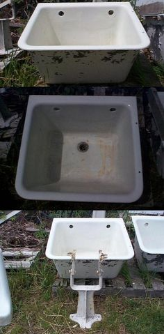 sinks on Pinterest Utility Sink, Double Sinks and Sinks