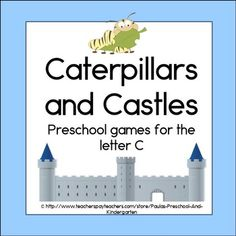 4 games to play with preschool or kindergarten students who are learning the letter C. TpT$