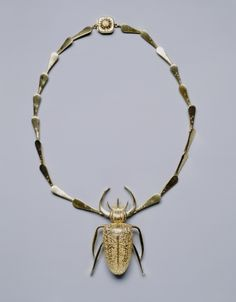 John Paul Miller, Necklace, 1951. Gold. Cleveland Museum of Art.