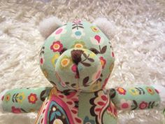 NEW Vera Bradley Baby - Bear in Tutti Frutti  Check out SamaritanVillage.net's eBay listing.