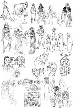 Joël Jurion (viewer discretion advised) - Character Design Page