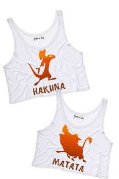 Hakuna Matata Best Friends Tank Tops | Yotta Kilo - $25