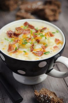 Potato & Corn Chowder - Kayotic Kitchen