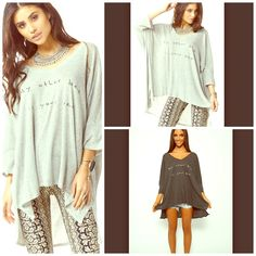 Oversized Slouchy Sweater Mini Dress NWT I FLIPPIN LOVE THIS! Oversized and crazy soft! ☺️ Wildfox Sweaters