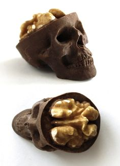 Chocolate Skulls Gone Nuts from Ruth and Sira García Trigueros