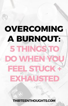 Overcoming a Burnout: 5 Things to Do when you feel stuck and exhausted Emotionally Exhausted, Feeling Exhausted, Feeling Stuck, How Are You Feeling, Caring For Mums, Burnout Recovery, Work Stress, Anxiety Tips, Self Care Routine