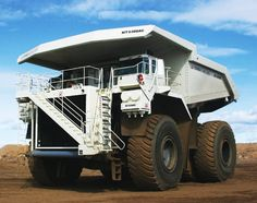 Bucyrus MT6300AC (FormerTerex) 400 short tons (360,000 kg) capacity