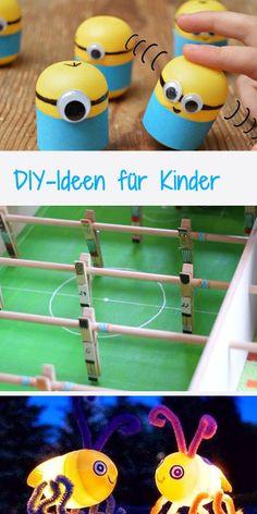 Coole DIY-Ideen für Kinder: http://www.gofeminin.de/familie/diy-ideen-fur-kinder-s1500436.html  #diy #doityourself