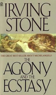 Biographical novel of Michelangelo and probably the best book I have ever read. Loved every page of it!