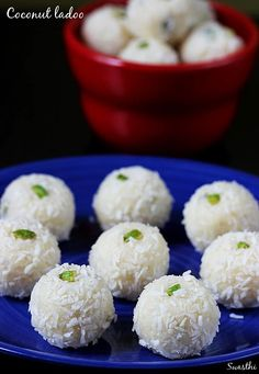 Lots of people would like to find out about indian cooking condensed milk. Well this is what our web site is all about. So click through and see how we can give you that. Coconut Ladoo Recipe, Coconut Burfi, Podi Recipe, Burfi Recipe, Coconut Recipes, Indian Desserts, Just Desserts, Indian Food Recipes, Dessert Recipes
