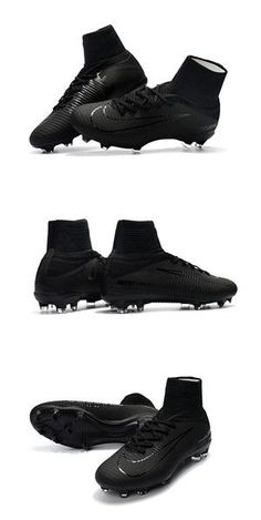 Nike Mercurial Superfly Iv Cr7 Sg Pro Soccer Cleats Black