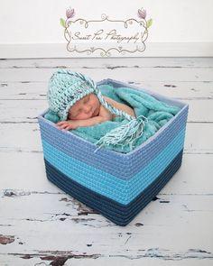 PDF Pattern crochet Plait Tailed Hat INS.