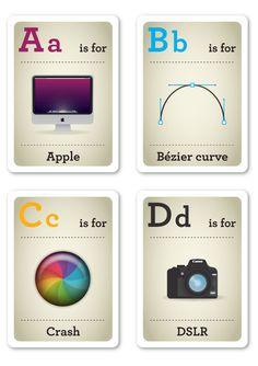 Geeky Flashcards    http://www.buzzfeed.com/txblacklabel/geeky-flash-cards-28m7