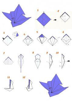 Оригами для детей. Как сделать оригами из бумаги? | Главная — Детские стихи, детские песни. Раннее развитие ребенка